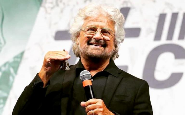 Beppe Grillo su Rai2 col format di Freccero