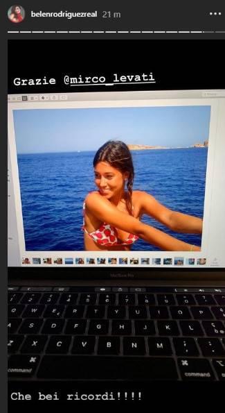 Belen Rodriguez ragazzina