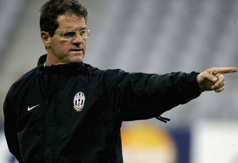 """Capello: """"Una comica lo scudetto 2006 all'Inter"""""""