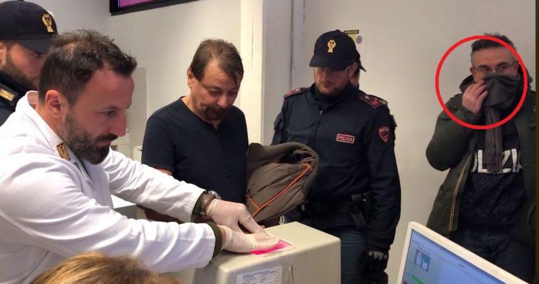 Cattura, Cesare Battisti, volto carabiniere