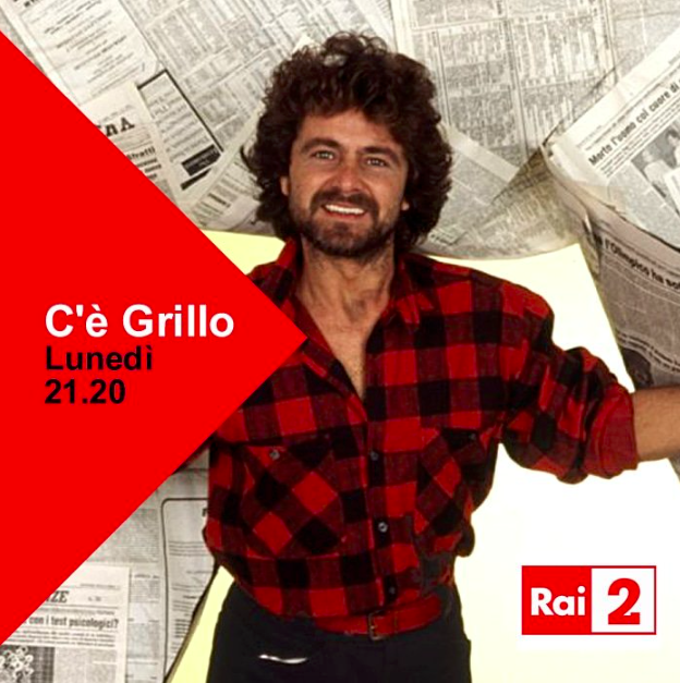 C'è Grillo, su Rai2