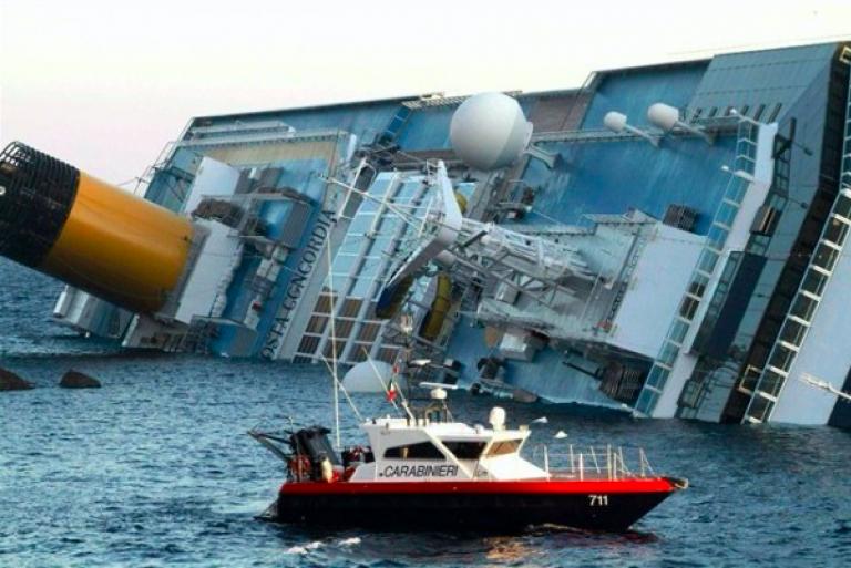 concordia naufragio protagonisti