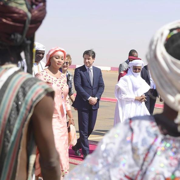 Giuseppe Conte in Niger