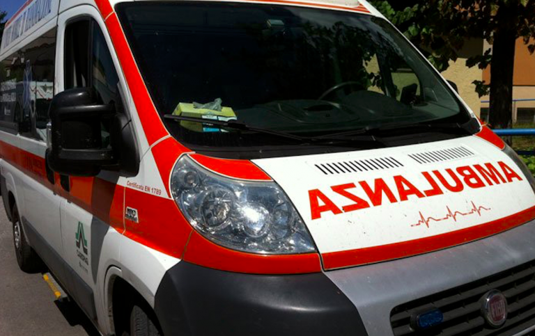 Incidente a Torino in via Potenza