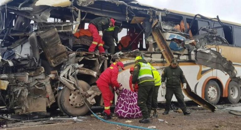 incidente stradale bolivia