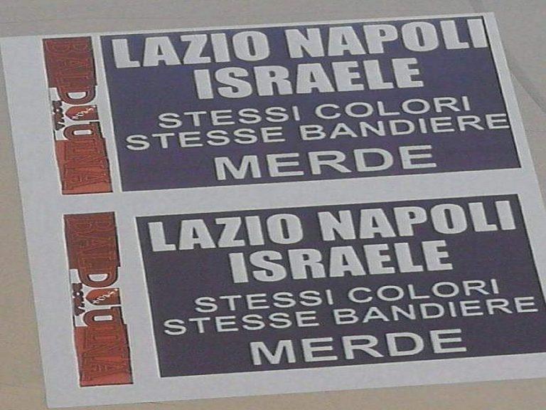 Roma, volantini con insulti antisemiti
