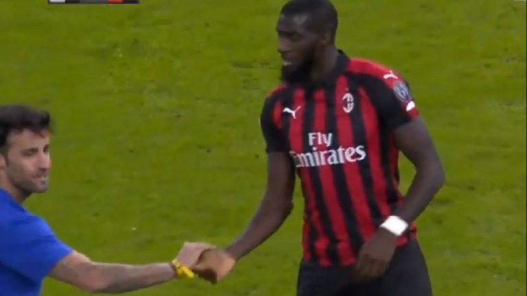 Juventus Milan, invasione di campo
