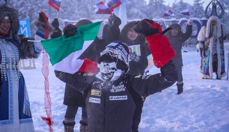 L'italiano Paolo Venturini in Jacuzia, foto di Matteo Menapace