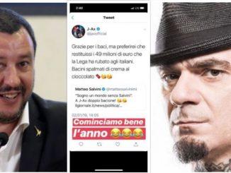 Matteo Salvini risponde J-Ax