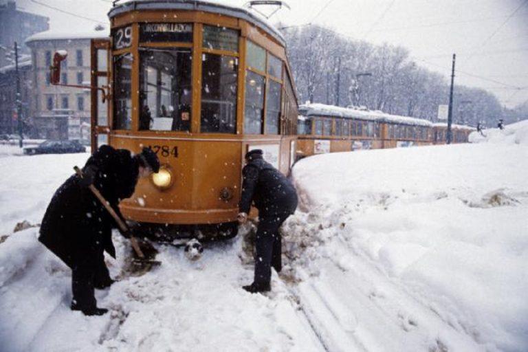 Milano, nevicata storica del 1985