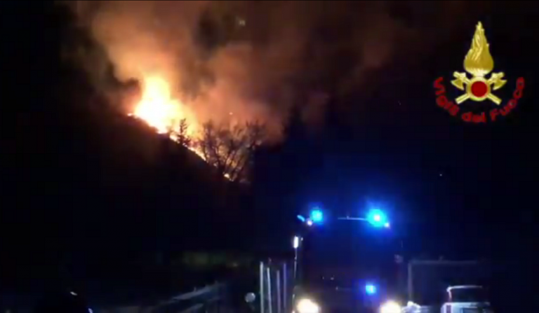 incendio monte Martica