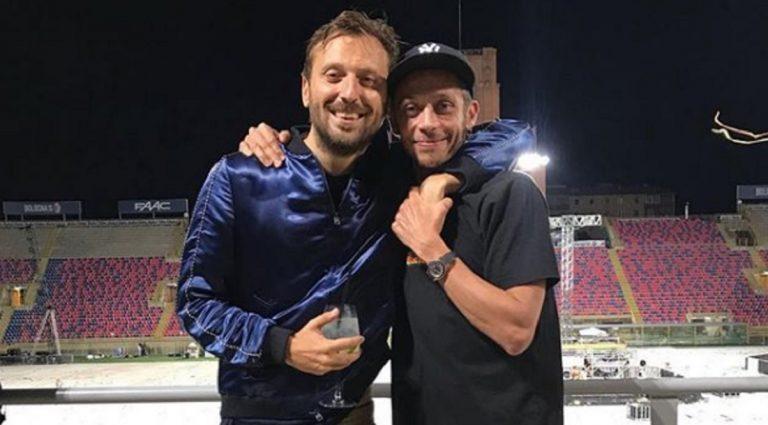 Valentino Rossi e la rivelazione di Cremonini