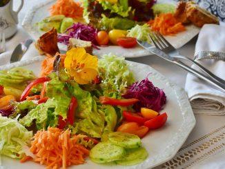Dieta vegana equilibrata.