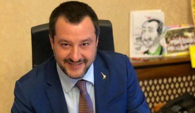 Pastori sardi, Salvini in campo