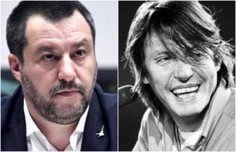 Salvini commenta Il pescatore di De Andrè