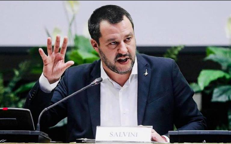 Salvini, no alla proposta sulla cannabis
