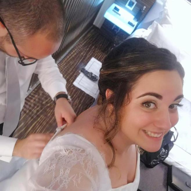 Sara Seminara si era sposata da poco