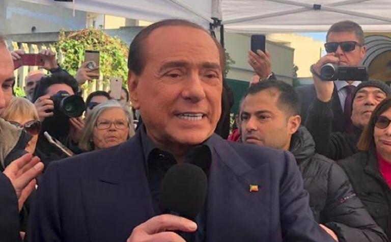 Silvio Berlusconi candidato alle europee