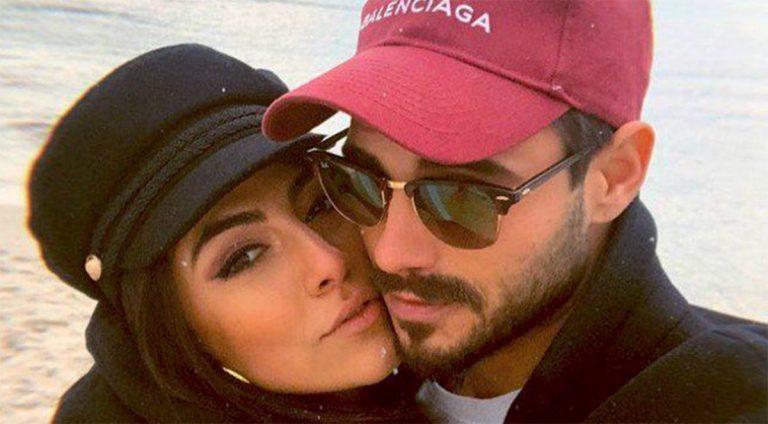 Francesco Monte con Giulia Salemi