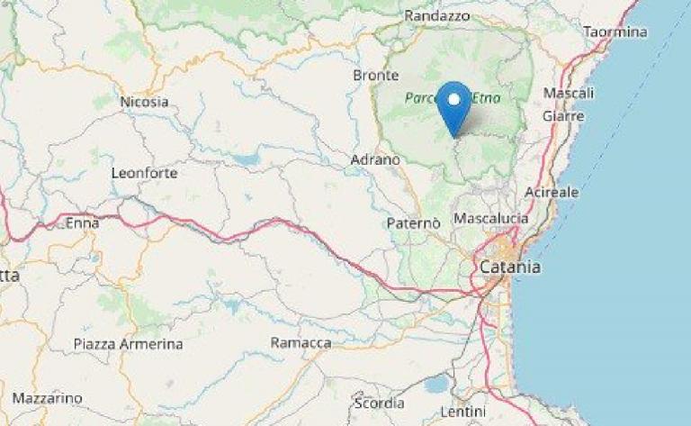 Terremoto a Zafferana Etnea