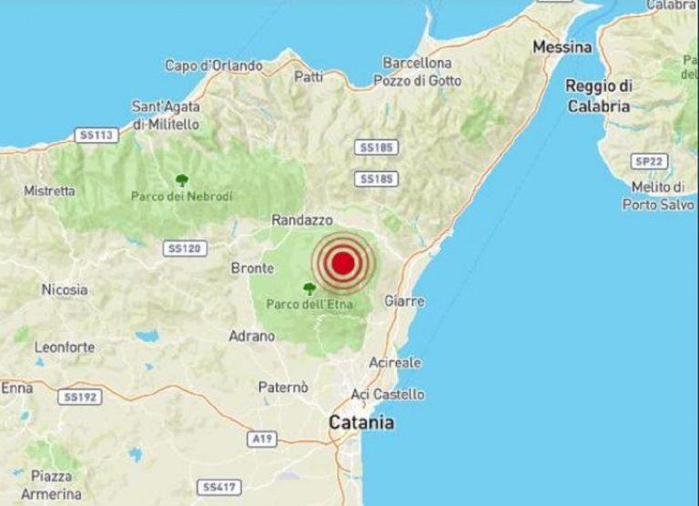 terremoto etna sicilia
