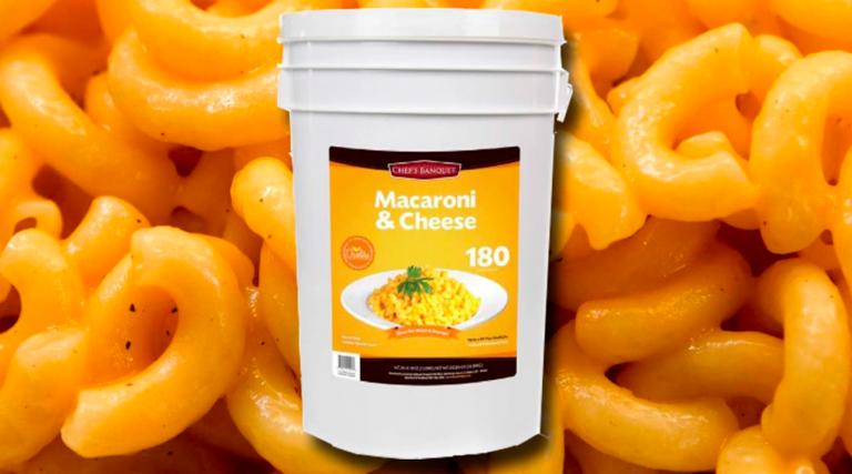 Usa, pasta al formaggio precotta