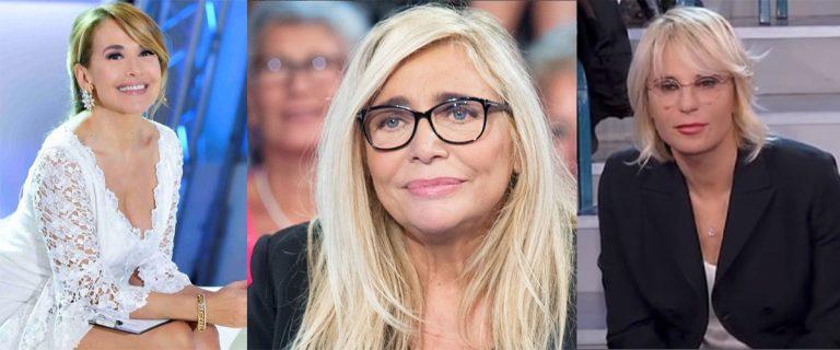 Barbara D'Urso commenta Venier e De Filippi