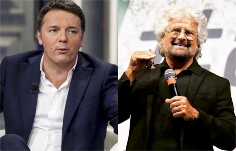 Vaccini, Renzi e Grillo firmano l'accordo no vax