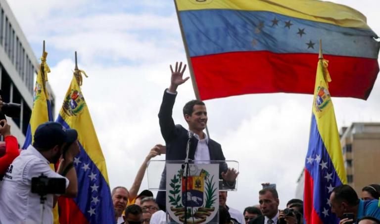 Venezuela, Guaidò si auto proclama presidente