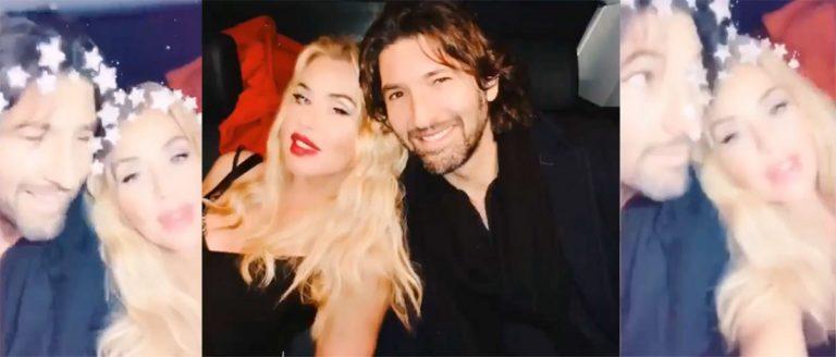 Valeria Marini con Walter Nudo