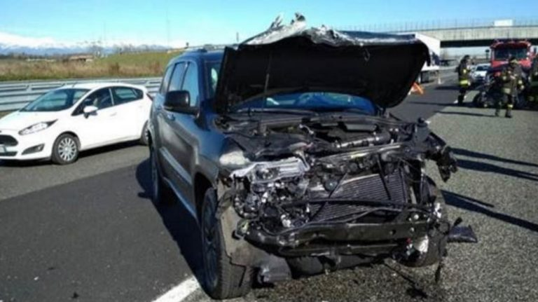 Incidente d'auto per Douglas Costa
