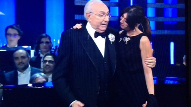 Pippo Baudo ospite a Sanremo