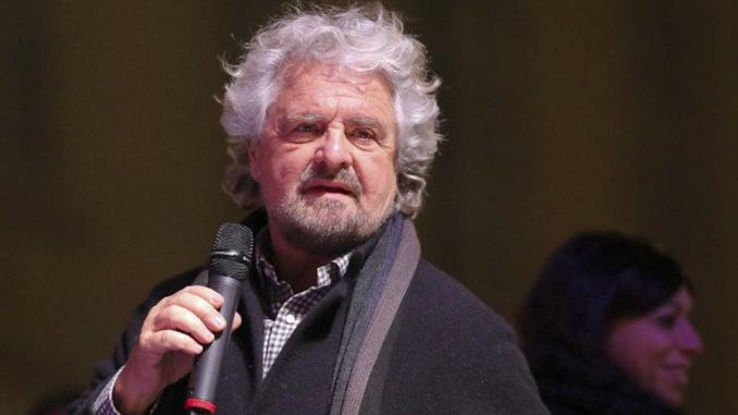 Beppe Grillo contestato