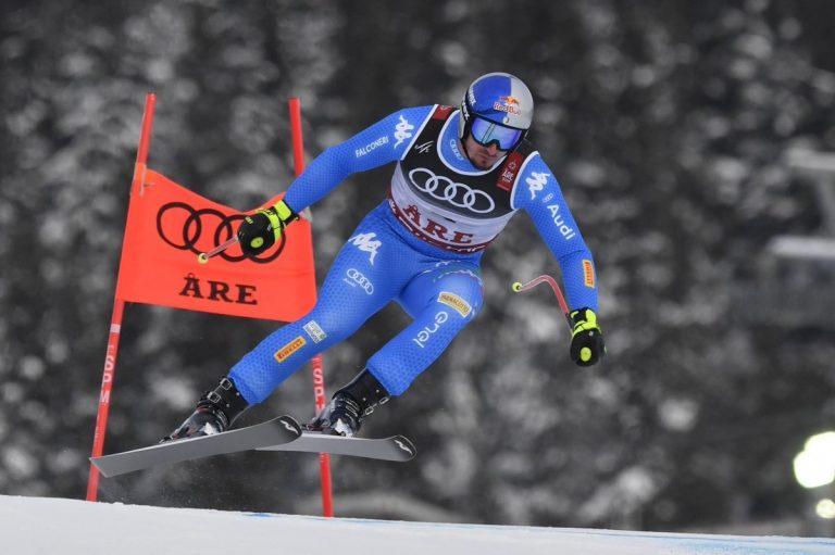 Dominik Paris vince la medaglia d'oro ai Mondiali di sci