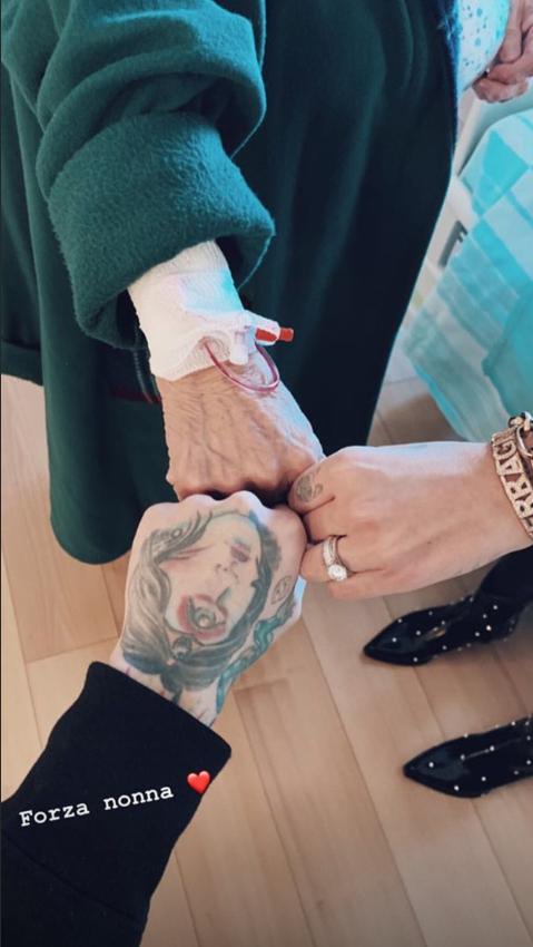 Ferragni Fedez e nonna Luciana