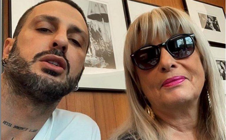 Fabrizio Corona fa pace con la madre Gabriella