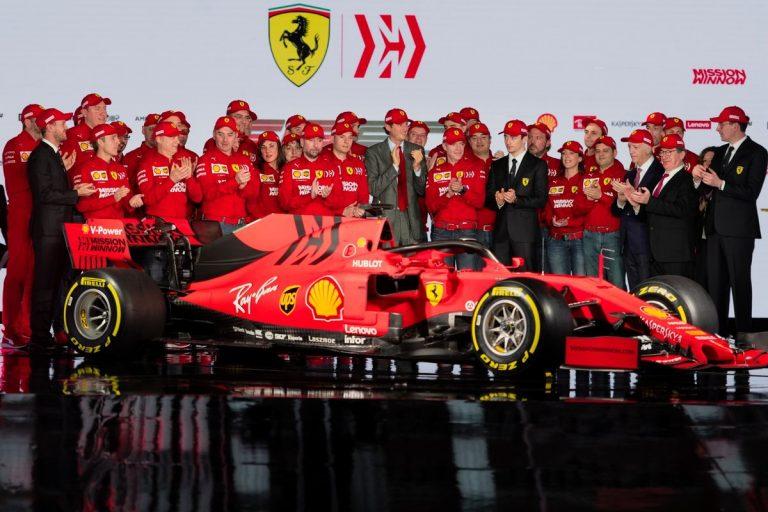 Presentata la Ferrari che correrà nel Mondiale 2019