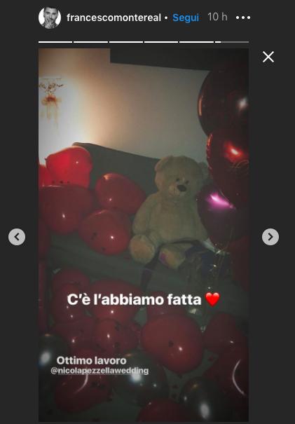francesco-giulia-sorpresa-san-valentino