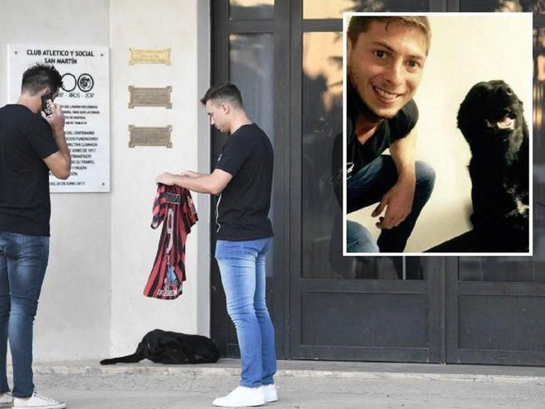 Argentina, l'addio del cane di Emiliano Sala al padrone