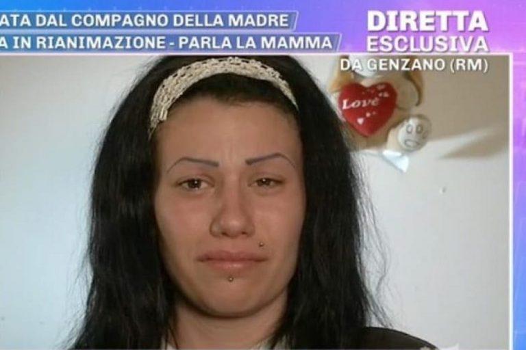"""Genzano, la madre della bimba picchiata dal compagno ritratta """"Solo odio per lui"""""""