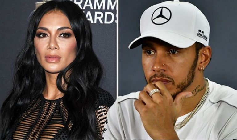 Finisce in rete il video hot di Lewis Hamilton e Nicole Scherzinger