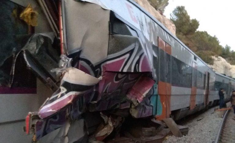 Scontro fra treni in Catalogna: 1 morto e numerosi feriti