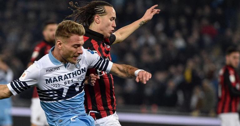Lazio-Milan di Coppa Italia