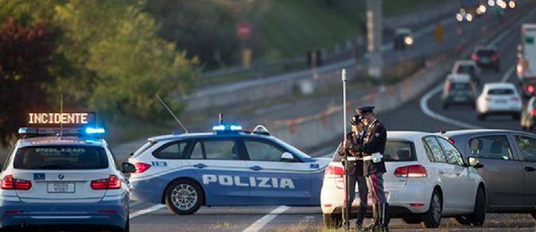 Maxi tamponamento sulla via Laurentina, Roma