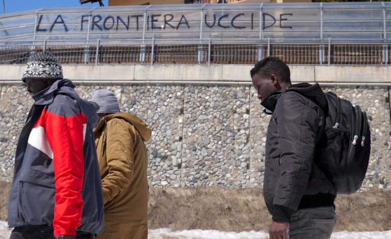 Migrante morto al confine con la Francia