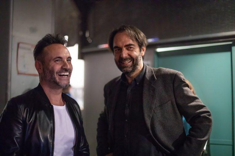 Sanremo, il duetto Nek-Marcoré