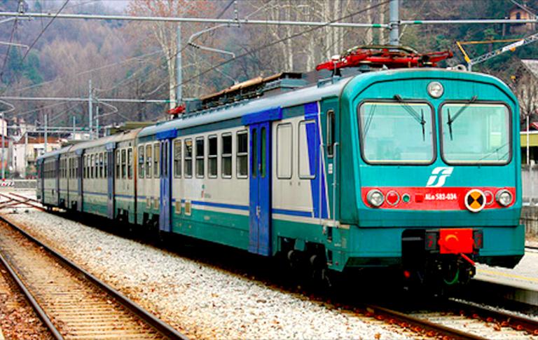 Ragazza ferita da un treno