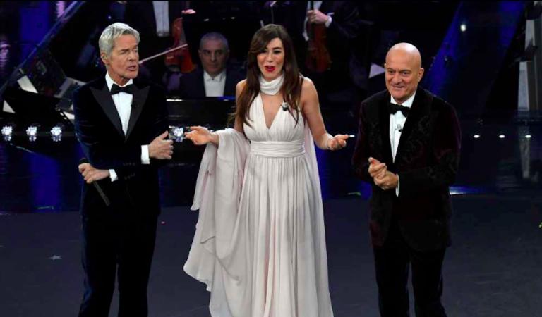 Sanremo, ascolti terza serata