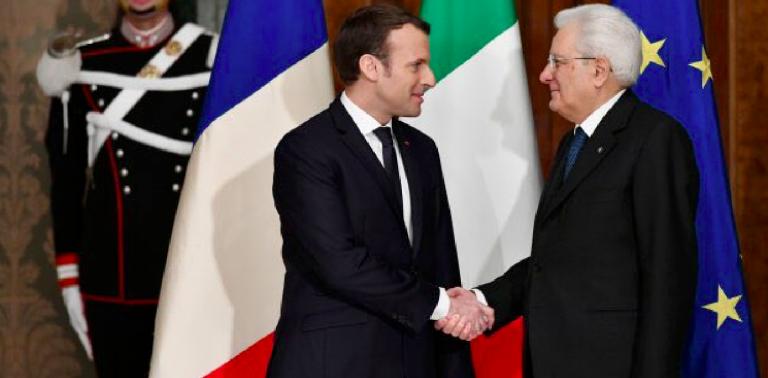 Tensioni Italia-Francia, preoccupazione di Mattarella