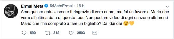 tweet Ermal Meta